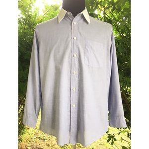 Christian Dior White Collar Dress Shirt